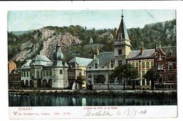 CPA - Carte Postale-Belgique Dinant - La Poste Et L'Hôtel De Ville-1906 VM4620 - Dinant
