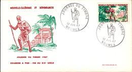 Nouvelle Calédonie FDC N° 340 12 Juillet 1967 - FDC