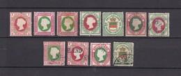Helgoland - 1867/76 - Neudrucke Sammlung - Gest./Ungebr. - Heligoland