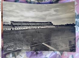 Catania Stadio Comunale CARTOLINA VIAGGIATA ANNI 50 - Catania
