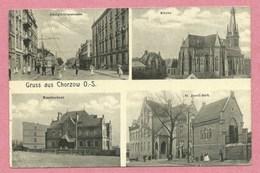 Polska - Polen - Pologne - Gruss Aus CHORZOW - Feldpost - Guerre 14/18 - Schlesien