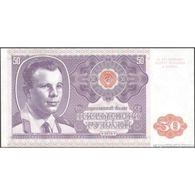TWN - RUSSIA (private Issue) - 50 Rubles 2016 Specimen - Essay - Low Serial 000XXX - Yuri Gagarin UNC - Banknotes