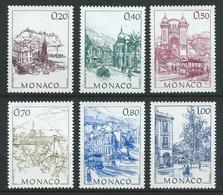 MONACO 1991 . Série N°s 1762 à 1767. Neufs ** (MNH) - Neufs