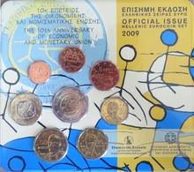 0537 - SERIE BU EUROS GRECE - 2009 - 1 Cent à 2 Euros UEM - Grèce