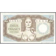 TWN - SAAR (private Issue) - 2 Francs 2015 Specimen - Essay - Very Low Serial 0000XX UNC - Banknotes