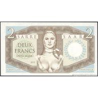 TWN - SAAR (private Issue) - 2 Francs 2015 Specimen - Essay - Very Low Serial 0000XX UNC - Non Classificati