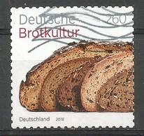 BRD 2018  Mi.Nr. 3390 , Deutsche Brotkultur - Selbstklebend / Self-adhesive - Gestempelt / Used / (o) - BRD