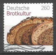 BRD 2018  Mi.Nr. 3390 , Deutsche Brotkultur - Selbstklebend / Self-adhesive - Gestempelt / Used / (o) - [7] Repubblica Federale