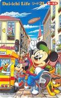 DISNEY - DISNEYLAND - MICKEY -- TELECARTE JAPON - Disney
