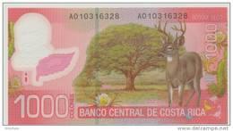 COSTA RICA P. 274a 1000 C 2009 UNC - Costa Rica