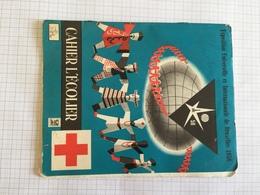 19C -  Cahier De Brouillon Expo 58 Croix Rouge - Unclassified
