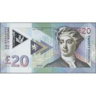 TWN - SCOTLAND (private Issue) - 20 Pounds 18.9.2016 (2018) Polymer - Low Serial M 00XXX  Private Issue UNC - Banknotes