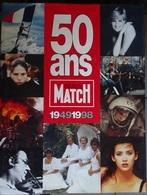 énorme Livre - 50 Ans Paris Match 1949 - 1998 - 960 Pages - Journaux - Quotidiens