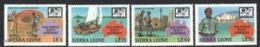 Sierra Leone - Leona 1987 Yvert 851-54, 16th World Jamboree, Australia - Boy Scouts - MNH - Sierra Leone (1961-...)
