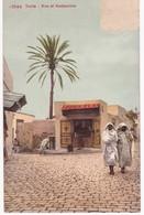 Tunisie -  TUNIS -  Rue El Hadjamine - 1909 - Sans Timbre - Túnez