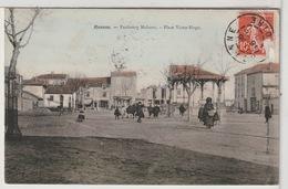 42 - ROANNE - Faubourg Mulsant - Place Victor Hugo Animée - Roanne