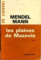 Les Plaines De Mazovie De Mendel Mann (1966) - Books, Magazines, Comics