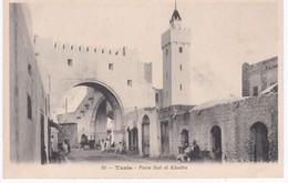 Tunisie -  TUNIS -  Porte Bab El Khadra - Tunisie