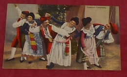 Costumi Tarantella :::: Italie - Danse - Couples - Costumes - Hommes - Femmes - Traditions  -------------- 501 - Danse