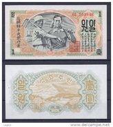 COREE NORD 1947 1 Won - Corée Du Nord