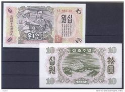 COREE NORD 1947 10 Won - Corée Du Nord
