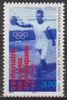 Sport, Athlétisme - FRANCE - Jeux Olympiques: Lancer Du Disque - N°3016 ** - 1996 - France