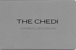 Switzerland: The Chedi, Andermatt - Hotelkarten