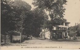 Cambo-les-Bains  64  La Route D'Espelette -Animée Et Bureau De Tabacs-Journaux - Cambo-les-Bains