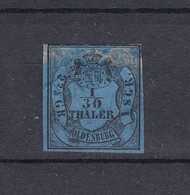 Oldenburg - 1852/59 - Michel Nr. 2 - Gest. - Oldenburg