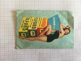 19C - Pochette Négatifs Photos Pin Up Ilford Films Thuin Beaumont - Publicités