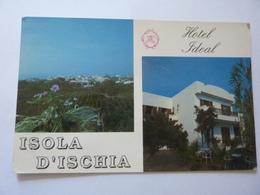 """Cartolina """"HOTEL IDEAL - FORIO D'ISCHIA"""" - Italia"""