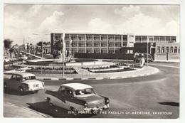 Hostel Of The Faculty Of Medecine, Khartoum Old Postcard Travelled 1965 To Yugoslavia B190715 - Sudán