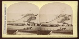 Stereoview - Promenade Pier, Hastings, East Sussex ENGLAND - Stereoscopes - Side-by-side Viewers