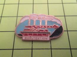 1117 Pin's Pins / Beau Et Rare : THEME : EDF GDF / EDF MANUTENTION - EDF GDF