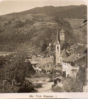 AK-2236/ Klausen Südtirol Italien  NPG Stereofoto Ca.1905 - Stereoscopio