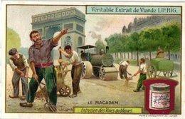 0944 -- Liebig 6 Cards  C1909- Road Surfaces - Entretien Des Voies Publiques -Bitume-Macadam-Asphalte-Dallage- - Liebig