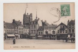 MF392 - LAIGLE - L'AIGLE - Place Boislandry - Tampon André SAILLANT St Martin D'Ecublei - L'Aigle