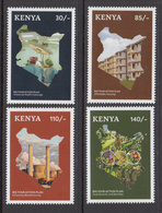 2019 Kenya  NEW ISSUE Action Plan Health Housing Nutrition Manufacturing  Complete Set Of 4 MNH - Kenia (1963-...)