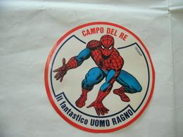 ADESIVO STICKERS MARVEL UOMO RAGNO SPIDER MAN CAMPO DEL RE. - Adesivi