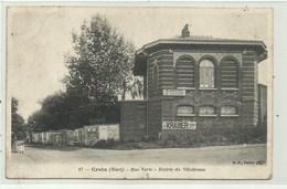 Croix  ( Nord)  Rue Verte - Entrée Du Vélodrome ( 2 Scans) - Non Classés