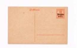 Entier Postal à 8 Centimes. - German Occupation
