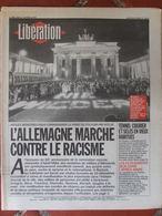 Journal Libération (1er Fév 1993) Allemagne Contre Racisme - Courier Et Selles - Les écologistes - Noir Désir - B Pardo - Zeitungen