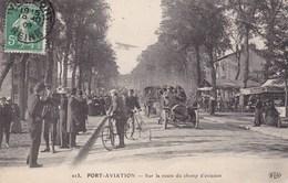 Port-Aviation - Sur La Route Du Champ D'aviation - Aviation