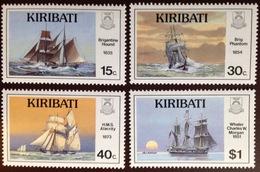 Kiribati 1989 Nautical History 1st Series Ships MNH - Kiribati (1979-...)