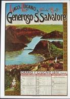 MONTE GENEROSO Bahn Ferrovie Ai Monti Plakat Werbung 1891 Plakatsammlung Des Kustgewerbemuseums Zürich - TI Tessin