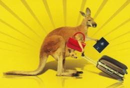 Kangaroo Travelling, Australia - Government PC, Unused - Unclassified