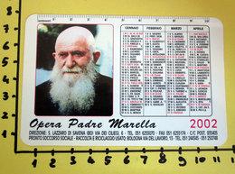 OPERA PADRE MARELLA 2002  CALENDARIO TASCABILE PLASTIFICATO - Kalenders