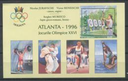 Republik Moldau 1998 Mi. Bl. 7 I Block 100% Postfrisch Olympische Spiele - Moldawien (Moldau)