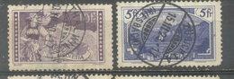 SUIZA - YVERT 143 - 144  (#1850) - Usados