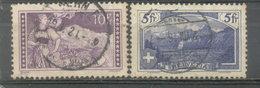 SUIZA - YVERT 143 - 144  (#1853) - Usados